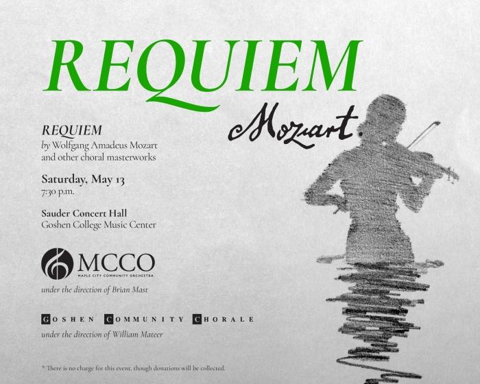 Spring 2017 Concert - May 13th - Sauder Concert Hall